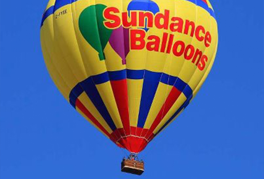 Picture of Sundance Hot Air Balloon in the sky
