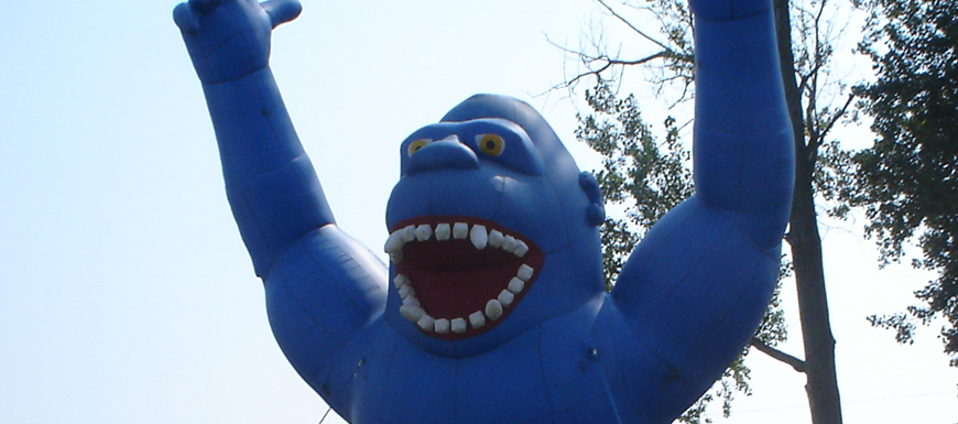 Picture of Gorilla Inflatable