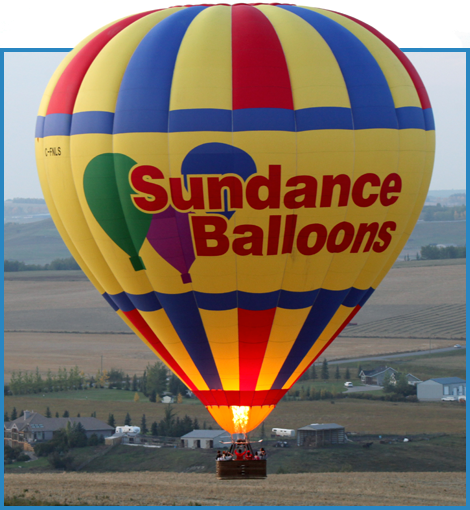 Picture of Sundance balloon flying
