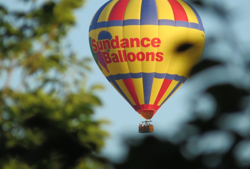 Picture of Sundance Balloon in the sky
